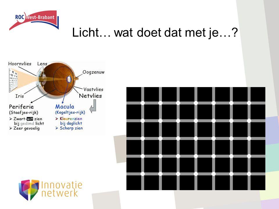 Licht… wat doet dat met je…?