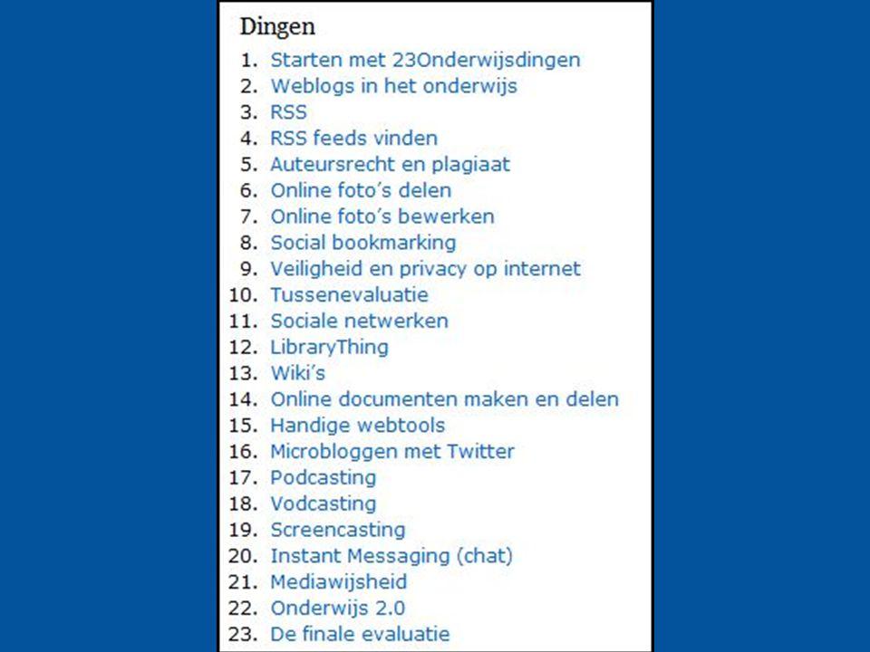 8 23 dingen voor het Onderwijs Voor docenten en mediathecarissen Voortgezet Onderwijs en ROC's.