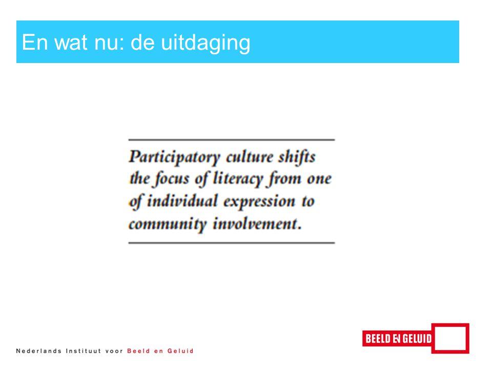 Nieuwe verbindingen curriculum Professionalisering Experiment Hilversum Media Campus