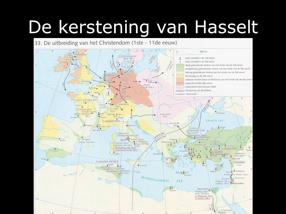 De kerstening van Hasselt