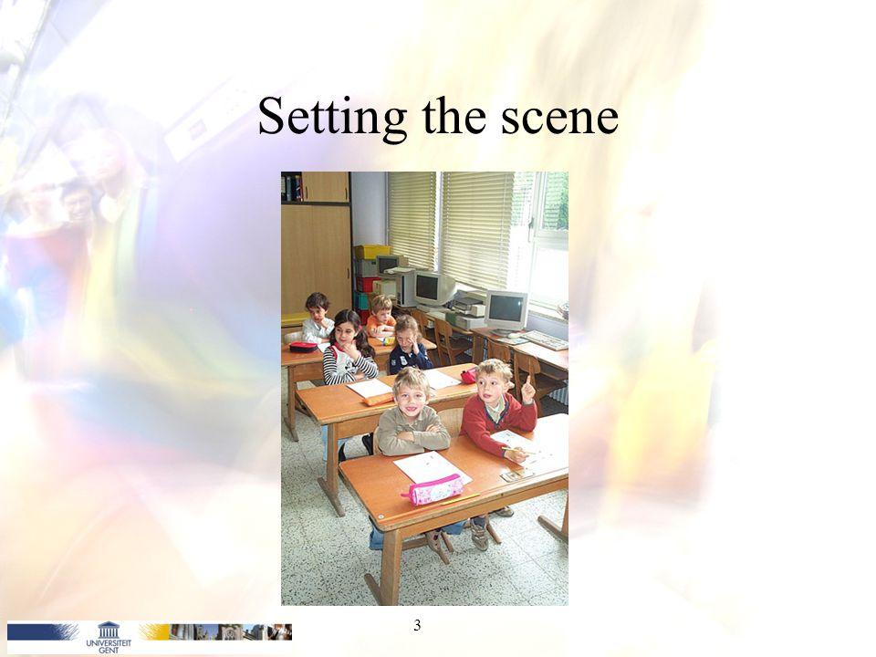 Setting the scene 3