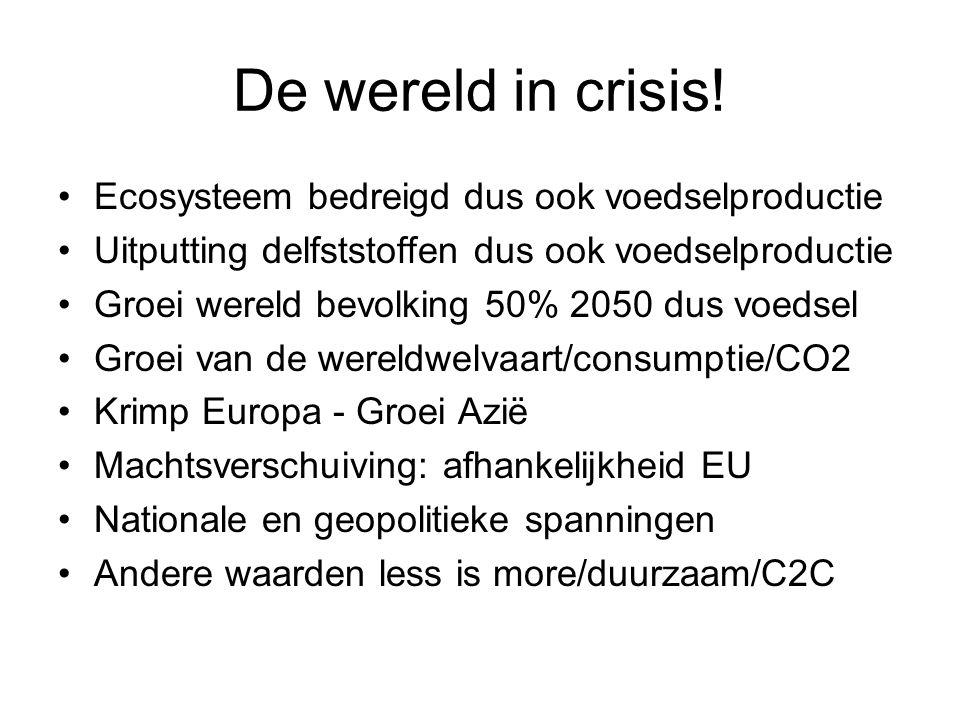 De wereld in crisis.