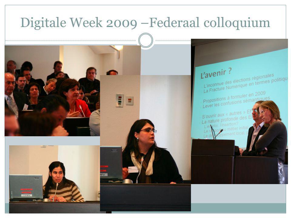 Digitale Week 2009 –Federaal colloquium