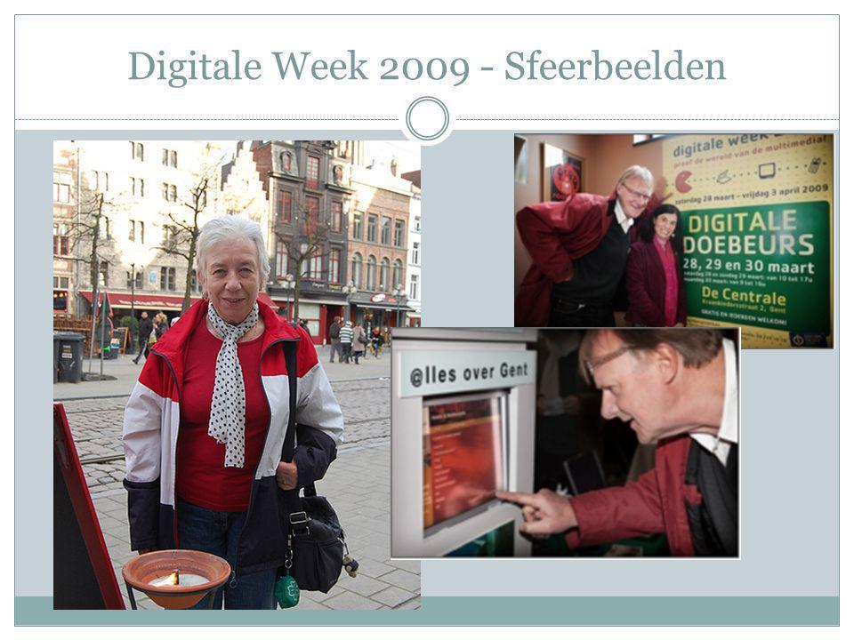 Digitale Week 2010 Digitale Week gesmaakt.Sloot het materiaal aan bij de doelgroep.