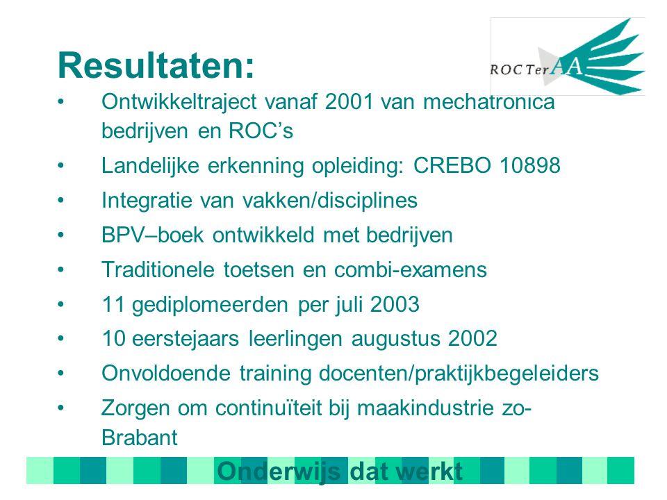 Samenwerking: Bedrijven Zuidoost Brabant FME, Metaalunie, Metalektro A+O en OOM Kenniscentrum (SOM/VEV) Kenteq Gemeentelijk en regio beleid Onderwijs: