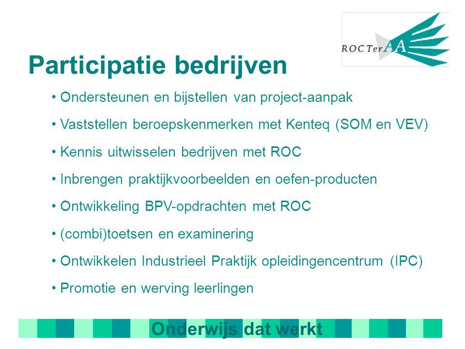 Resultaten: Ontwikkeltraject vanaf 2001 van mechatronica bedrijven en ROC's Landelijke erkenning opleiding: CREBO 10898 Integratie van vakken/discipli