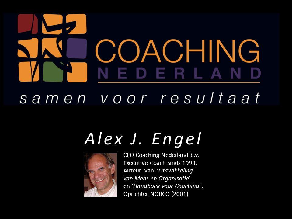 """CEO Coaching Nederland b.v. Executive Coach sinds 1993, Auteur van 'Ontwikkeling van Mens en Organisatie' en 'Handboek voor Coaching"""", Oprichter NOBCO"""
