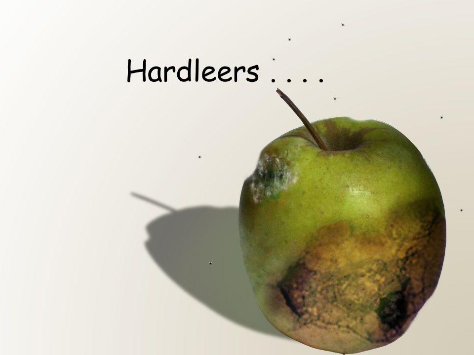 Hardleers....