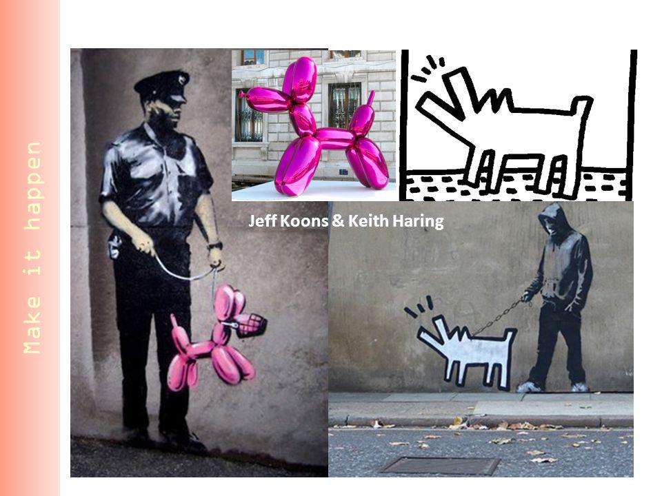 Jeff Koons & Keith Haring