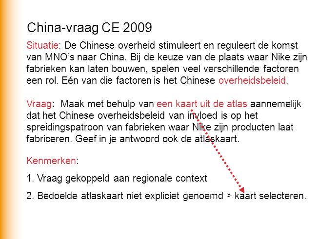 Situatie: De Chinese overheid stimuleert en reguleert de komst van MNO's naar China.