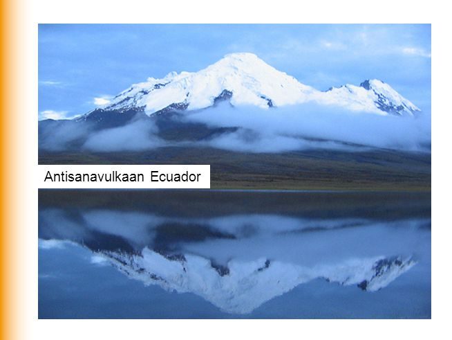 Antisanavulkaan Ecuador