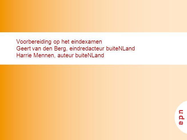 inhoud I Het eindexamen (Geert) II Analyse eerste CE TF Nieuwe Stijl (Harrie) III Wie heeft de gouden tip.