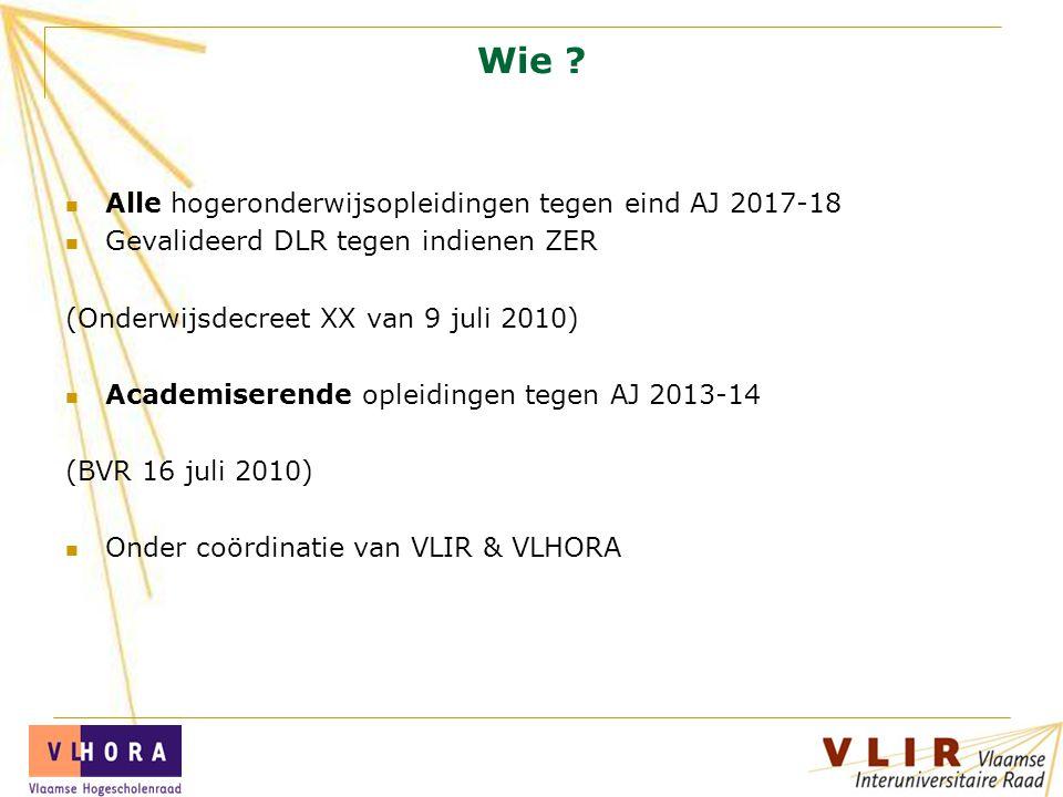 Procesbegeleider Conny Devolder VLIR - VLHORA Ravensteingalerij 27 1000 Brussel conny.devolder@vlir.be Tel.