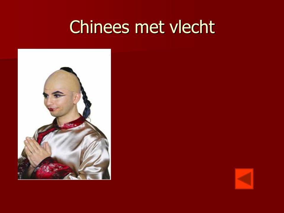 Chinees met vlecht