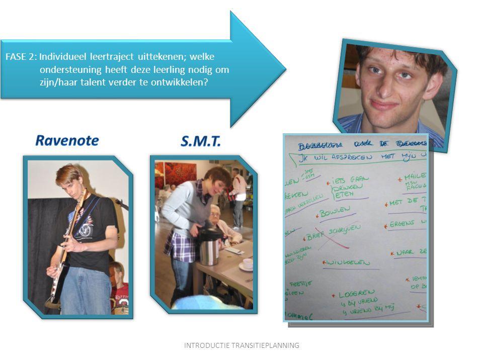 FASE 2: Individueel leertraject uittekenen; welke ondersteuning heeft deze leerling nodig om zijn/haar talent verder te ontwikkelen.