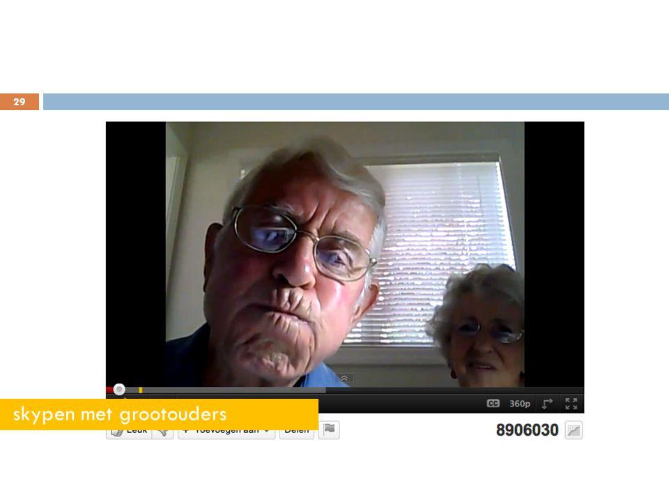 29 skypen met grootouders