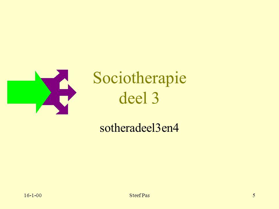 16-1-00Steef Pas4 Sociotherapie deel 3 en deel 4 sotheradeel3en4