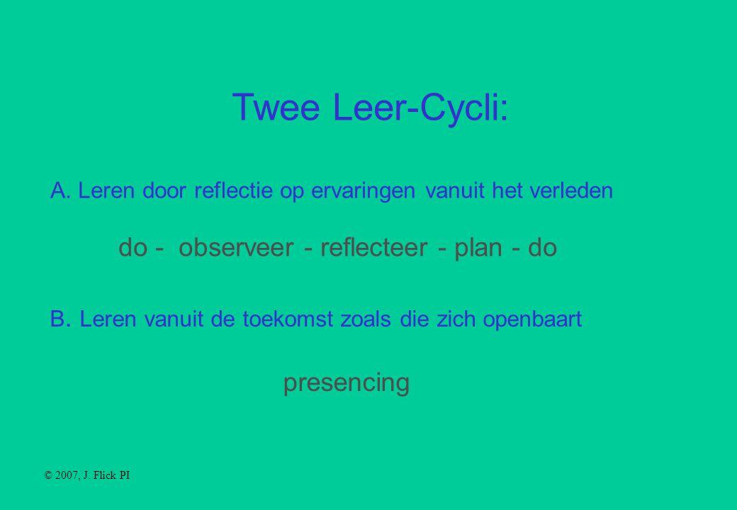 Twee Leer-Cycli: A.