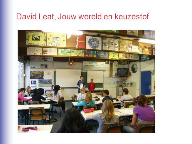 David Leat, Jouw wereld en keuzestof
