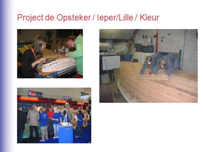 Project de Opsteker / Ieper/Lille / Kleur