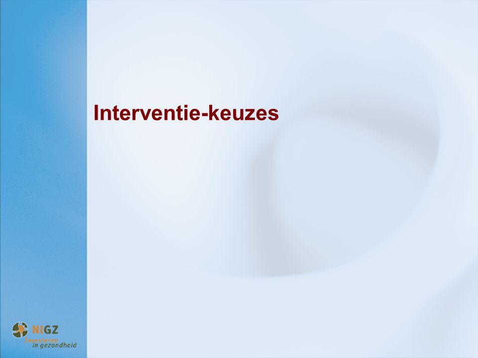 Interventie-keuzes