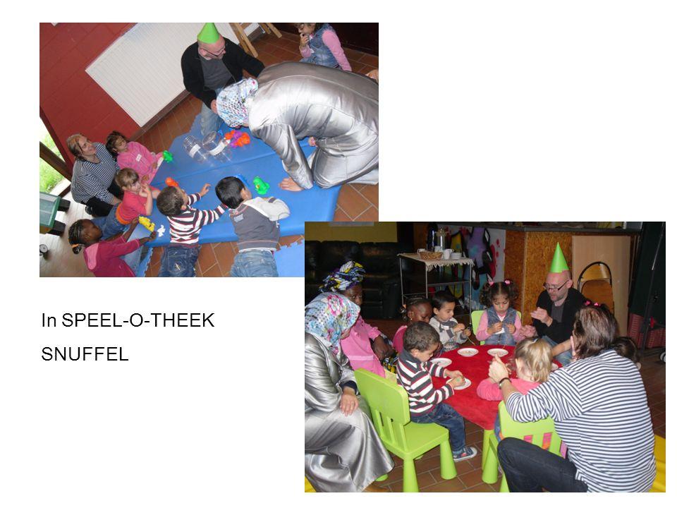 In SPEEL-O-THEEK SNUFFEL