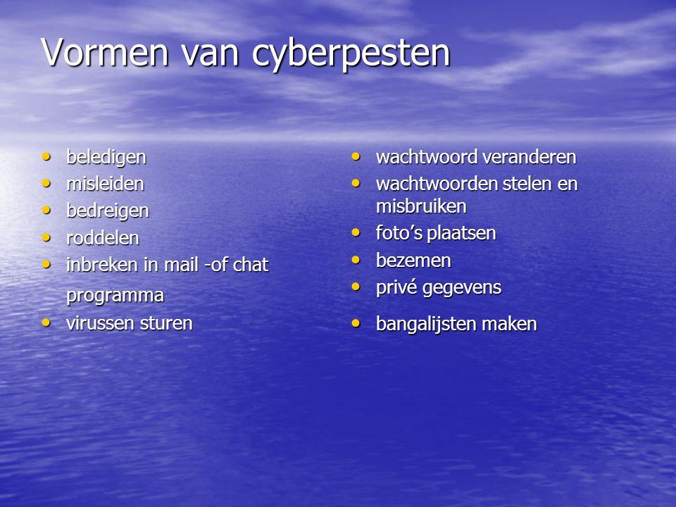 Voorkomen Voorkomen 98% van de kinderen in Nederland gebruikt internet.