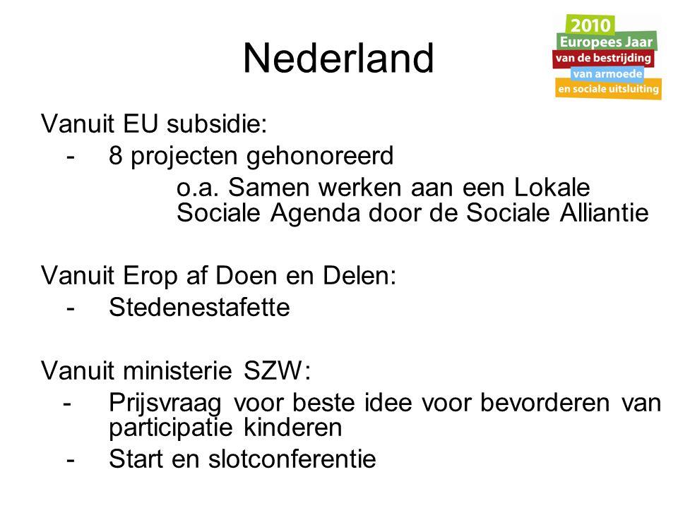 Stedenestafette Samenwerkingsproject: Sociale Alliantie