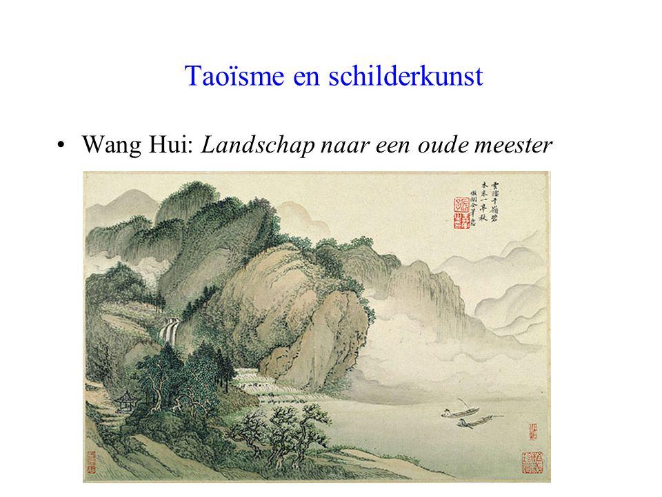 Taoïsme en schilderkunst Wang Hui: Landschap naar een oude meester