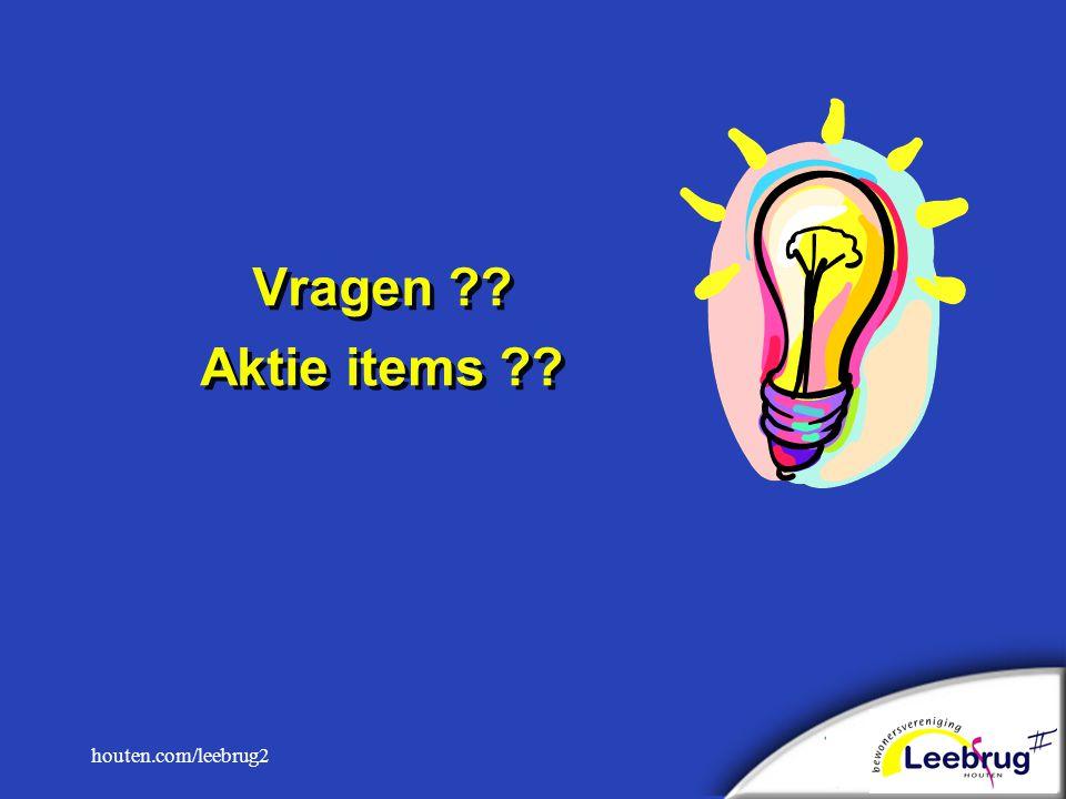 houten.com/leebrug2 Vragen Aktie items