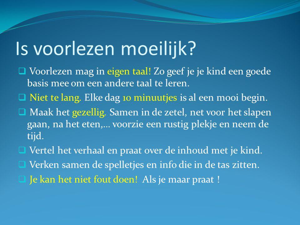 Nederlands of eigen taal. Praat in de taal waarin je jezelf het best kan uitdrukken.