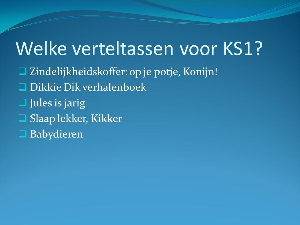 Welke verteltassen voor KS2.