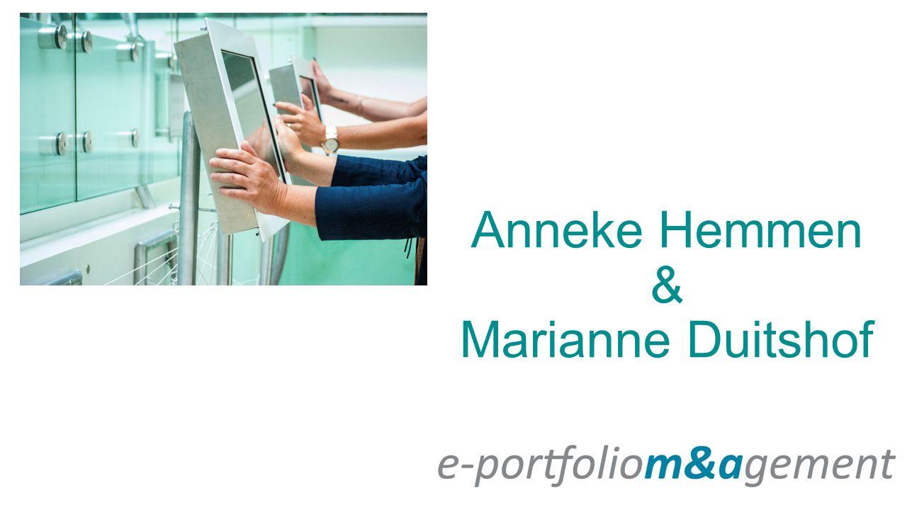 Anneke Hemmen & Marianne Duitshof