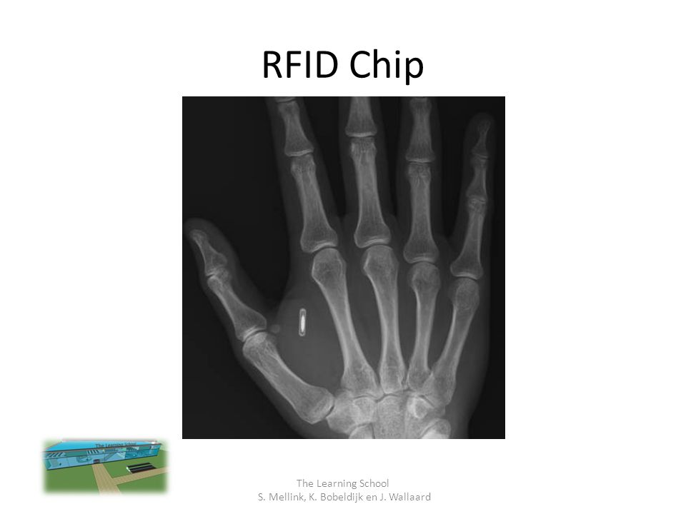 RFID Chip The Learning School S. Mellink, K. Bobeldijk en J. Wallaard