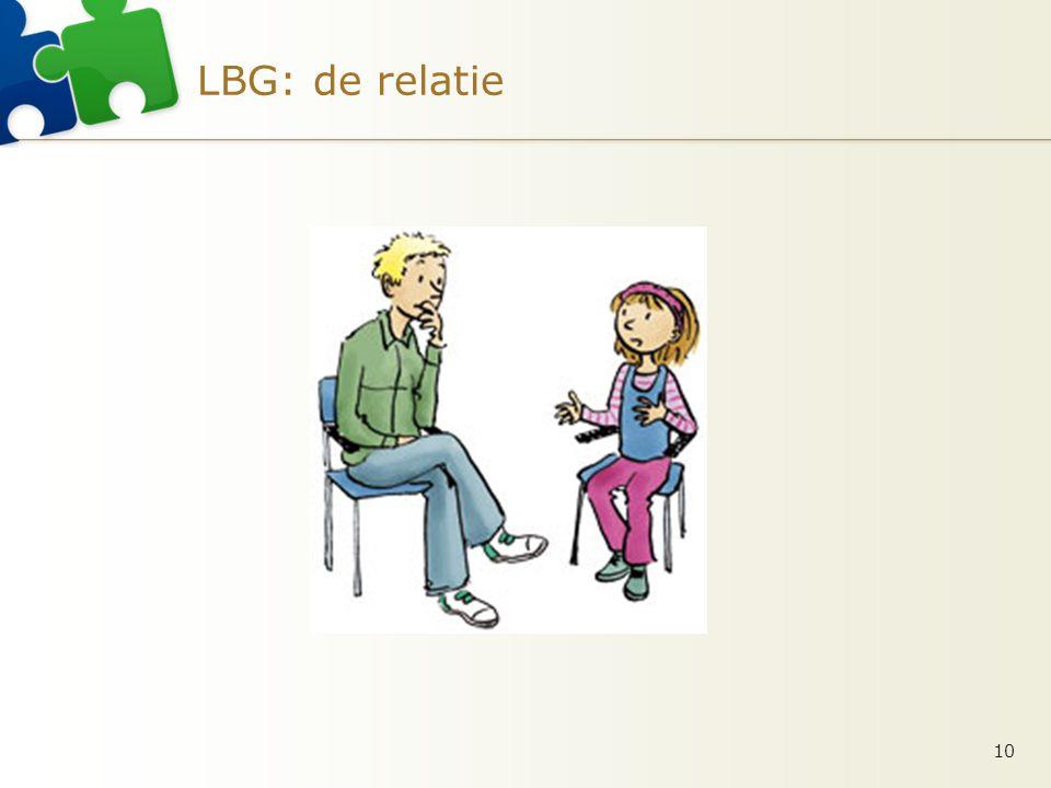 LBG: de relatie 10