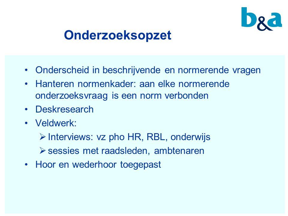 8 Conclusies (1) 1.Het RBL voert de leerplichtwettaken uit  conform de wet  efficiënt 2.Doeltreffendheid RBL: onvoldoende zicht hierop want:  Geen formulering van en sturing op streefwaarden  Duiding gegevens in jaarverslagen niet gemakkelijk