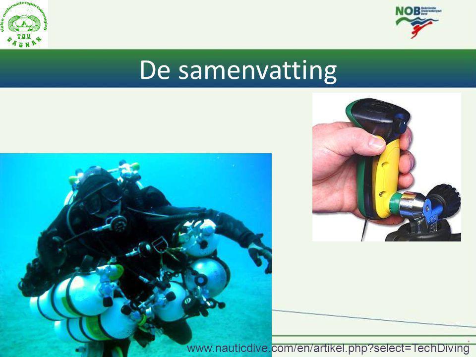 Rob Kool NOB I 120 De samenvatting www.nauticdive.com/en/artikel.php?select=TechDiving