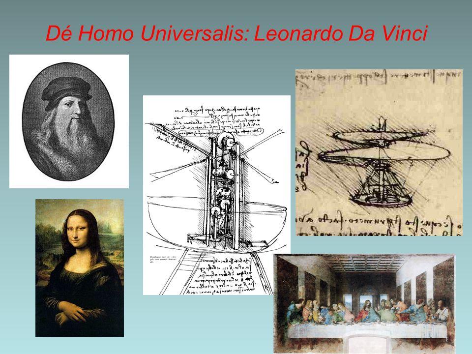 Dé Homo Universalis: Leonardo Da Vinci