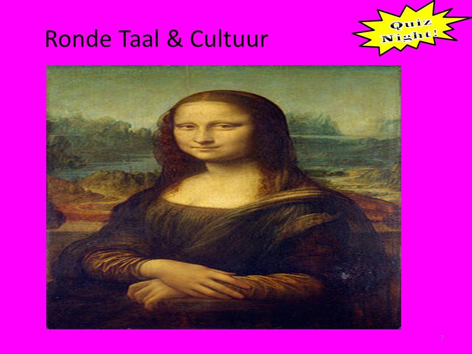 Ronde Taal & Cultuu 8 1.Cogito Ergo Sum 2. Luctor et Emergo 3.