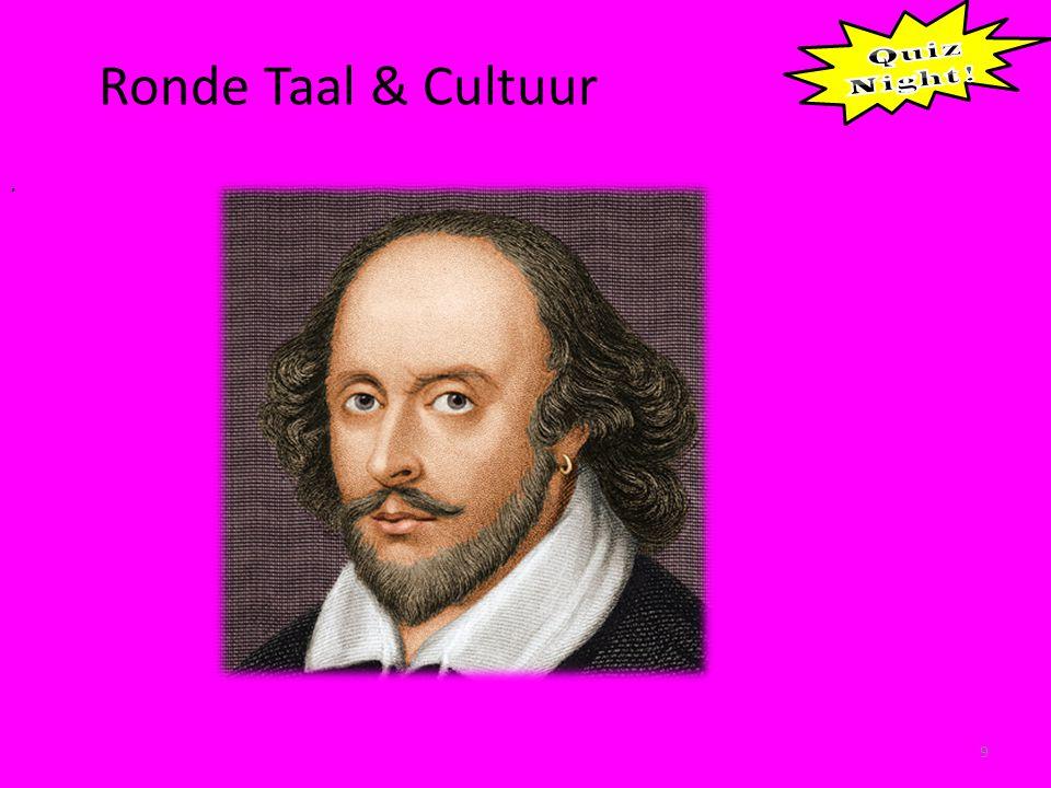 Ronde Taal & Cultuur 9.