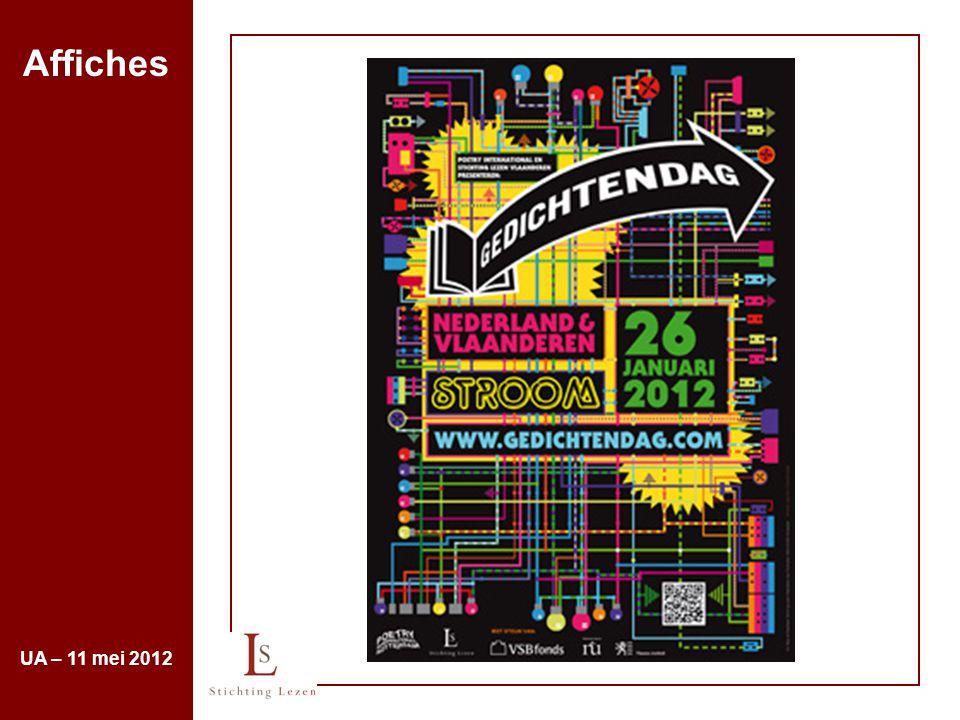 Affiches UA – 11 mei 2012
