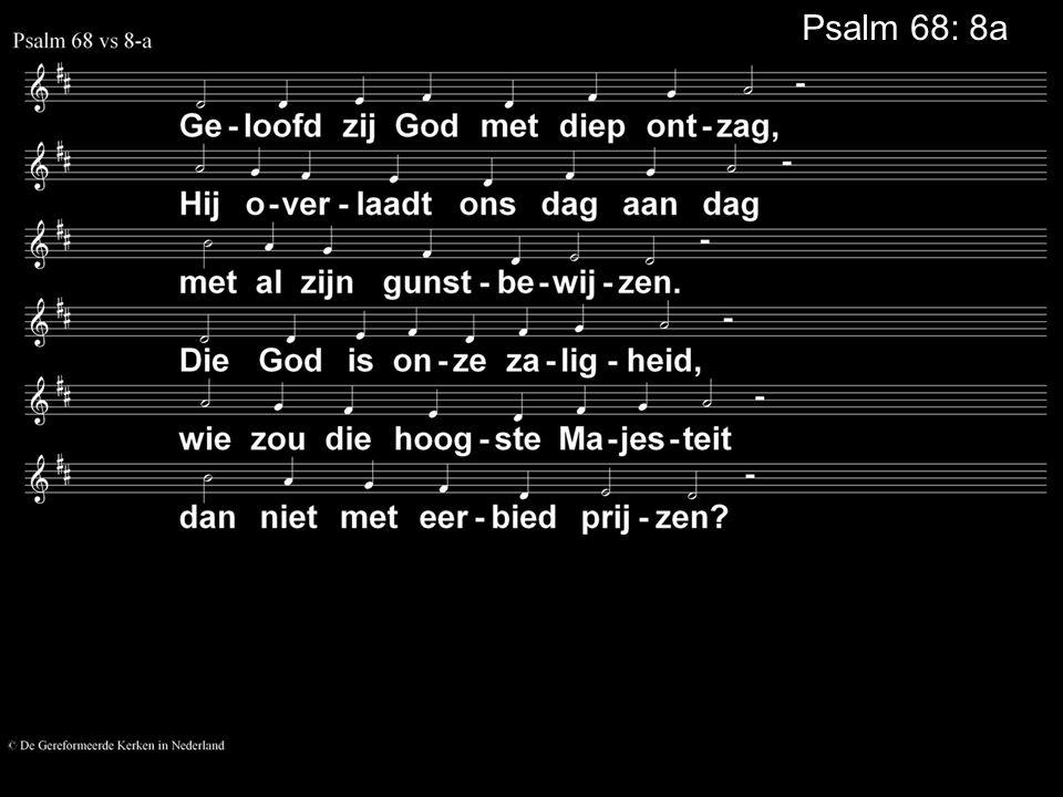 Psalm 68: 8a