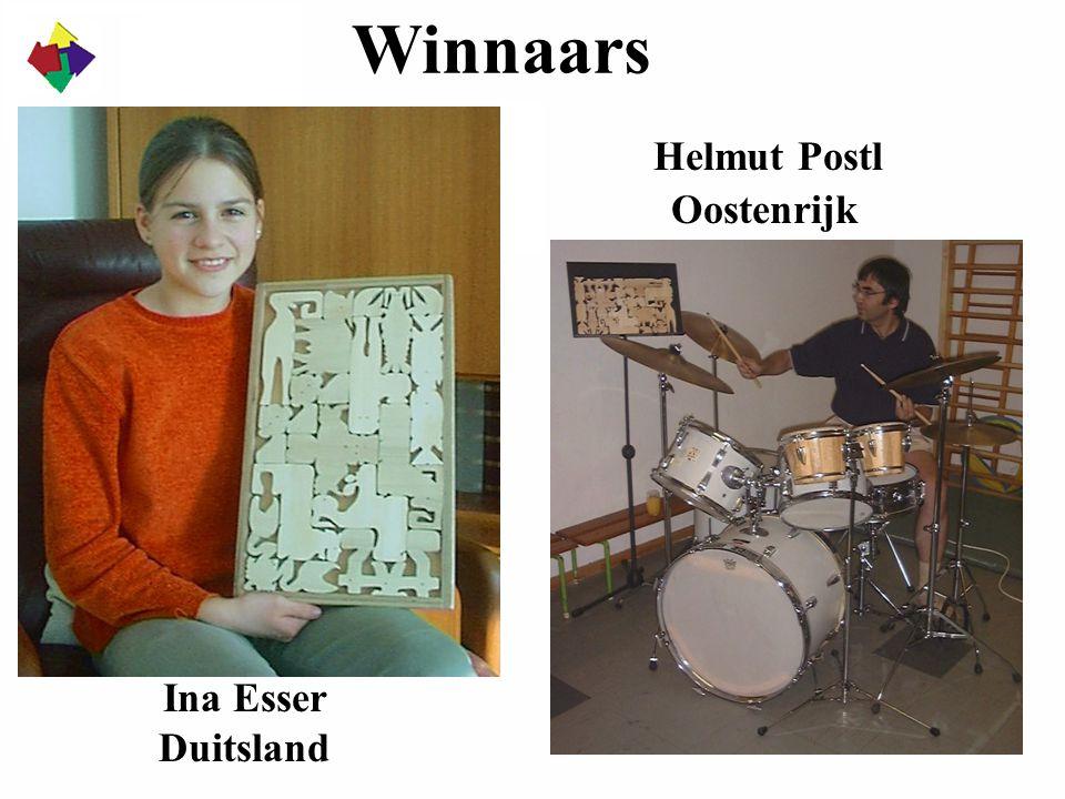 Winnaars Ina Esser Duitsland Helmut Postl Oostenrijk