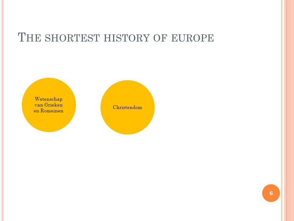T HE SHORTEST HISTORY OF EUROPE 17