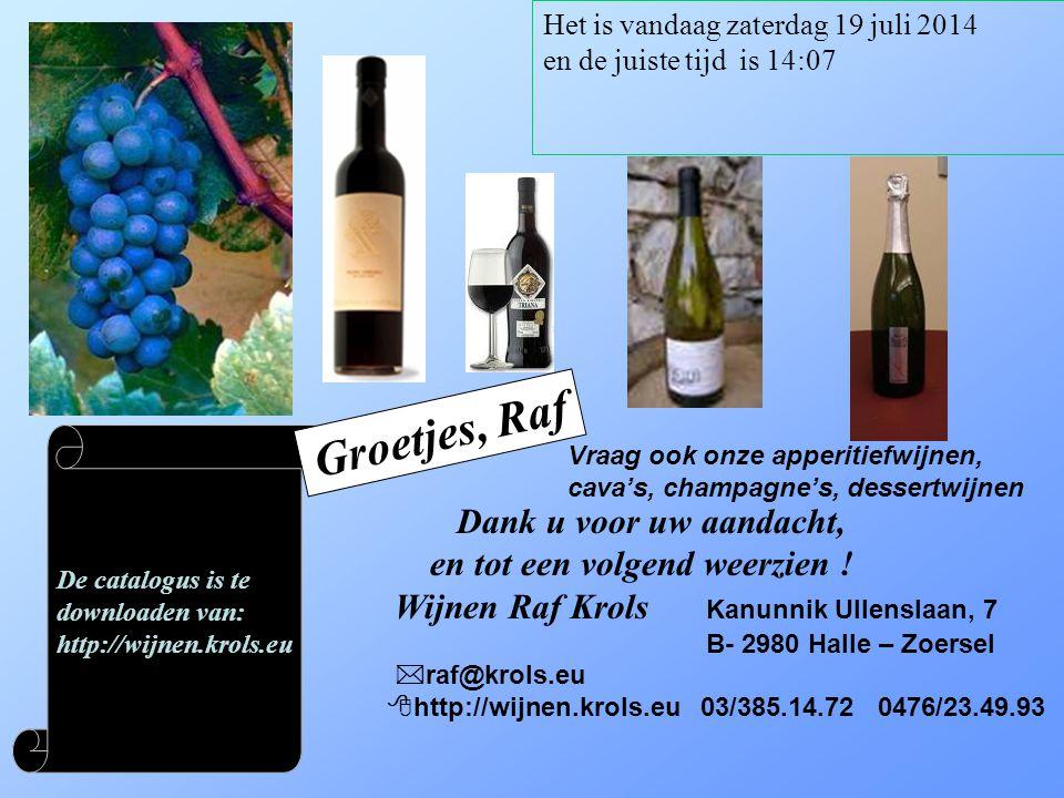 Voor meer info of bestelling, contacteer ons: raf@krols.eu Met de Wijn geschenkbon heeft u het perfecte wijngeschenk voor uw familie, vrienden en relaties.