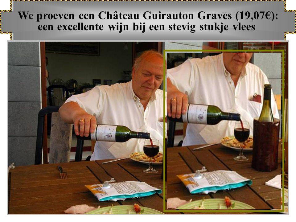 Wij nemen enkele van onze wijnen onder de loep en …..