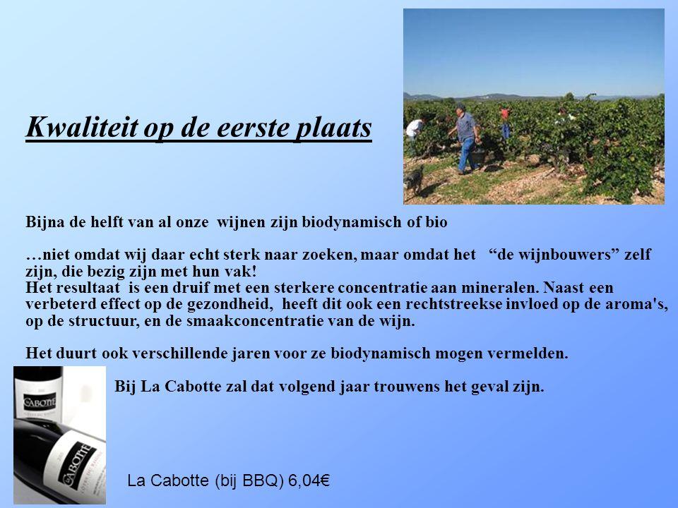 Enige informatie over onze biodynamische wijnen