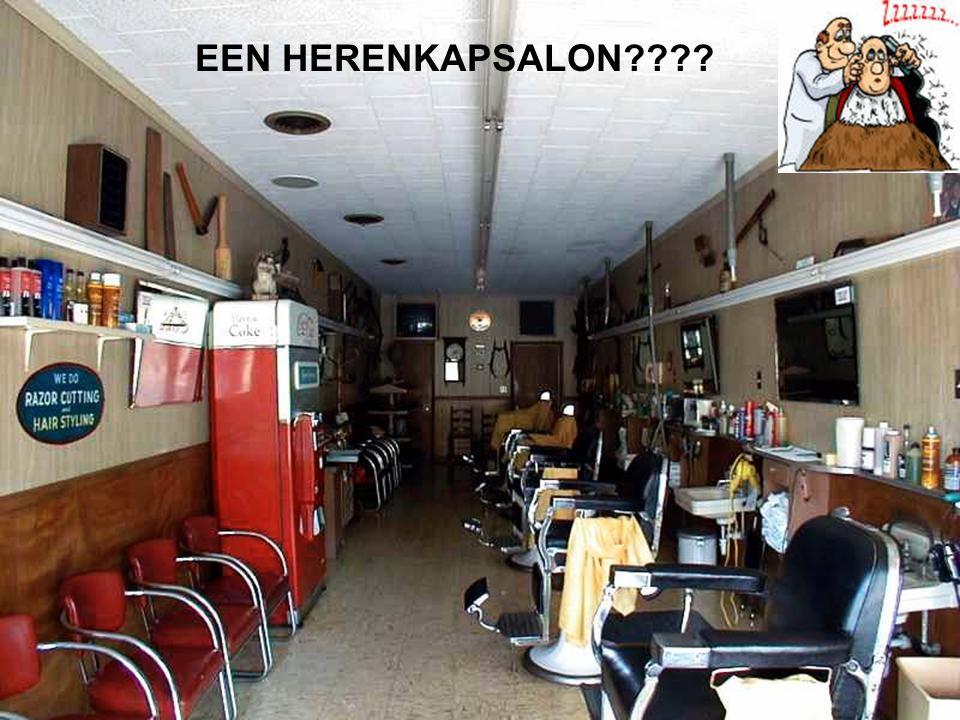 EEN HERENKAPSALON????