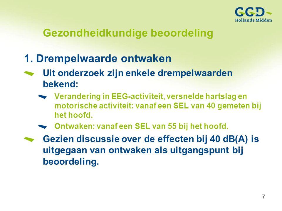 7Titel van de presentatie19-01-2007 7 Gezondheidkundige beoordeling 1.