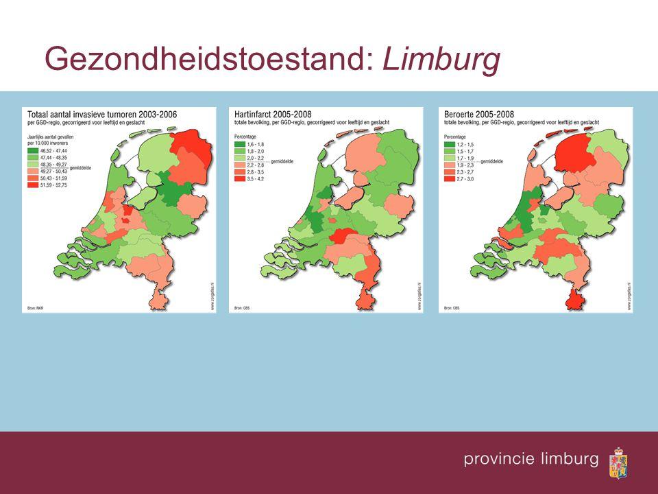 Gezondheidstoestand: Limburg